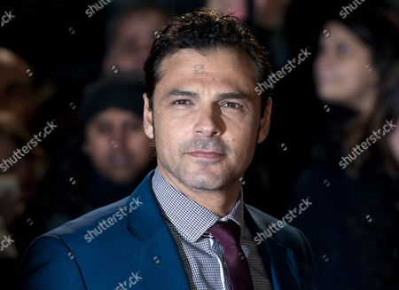 Australian Actor/cast Member Jonny Pasvolsky Arrives For the Uk Premiere of 'Mortdecai' in Central London Britain 19 January 2015 the Movie Opens in British Cinemas on 23 January United Kingdom London