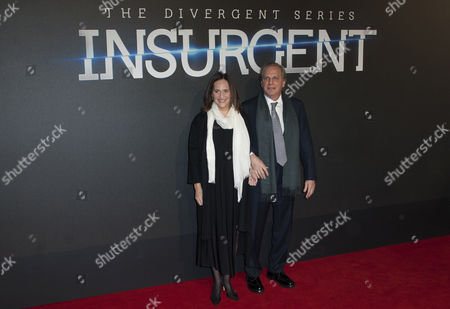 Producers Lucy Fisher (l) and Douglas Wick (r) Arrive For the World Premiere of the Film 'Insurgent' in London Britain 11 March 2015 the Movie Opens in British Cinemas on 19 March United Kingdom London