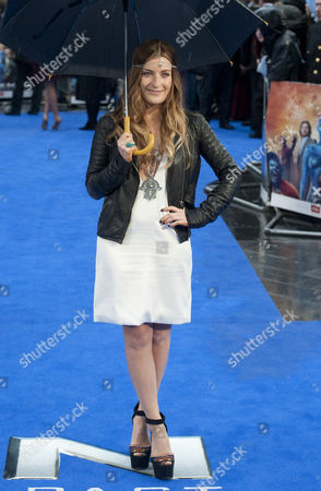 British Singer Molly Smitten-downes Arrives at the Premiere of X-men: 'Days of Future Past' in Leicester Square London Britain 12 May 2014 the Film is the Latest in the X-men Movie Franchise United Kingdom London