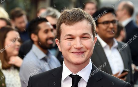 British Actor Alec Utgoff Poses on the Red Carpet During the World Film Premier of 'San Andreas' at Leicester Square in London Britain 21 May 2015 the Movie Opens in the Uk on 29 May United Kingdom London