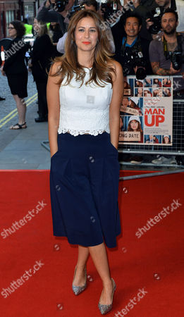 British Writer Tess Morris Attends the Uk Gala Screening of 'Man Up' in London Britain 13 May 2015 the Movie is Released in British Cinemas on 29 May United Kingdom London