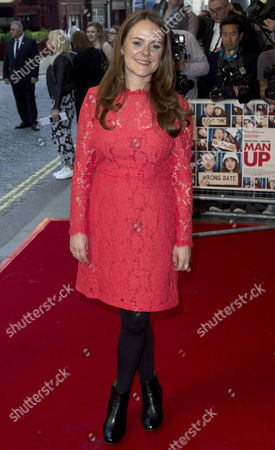 British Producer Nira Park Attends the Uk Gala Screening of 'Man Up' in London Britain 13 May 2015 the Movie is Released in British Cinemas on 29 May United Kingdom London
