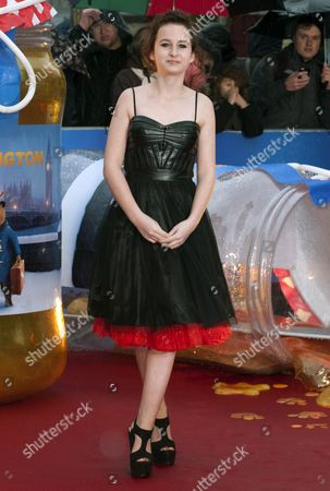 British Actress Madeleine Harris Arrives For the World Premiere of 'Paddington' in Leicester Square in London Britain 23 November 2014 the Movie Opens in British Cinemas on 28 November United Kingdom London