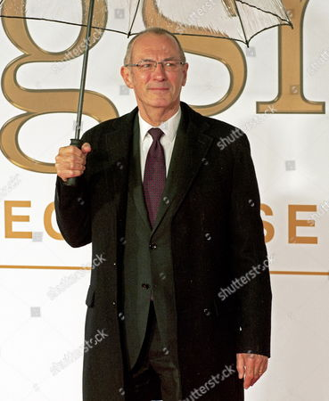 British Comic Book Artist Dave Gibbons Arrives For the World Premiere of the Film 'Kingsman: the Secret Service' in Central London Britain 14 January 2015 the Movie Opens in British Cinemas on 29 January 2015 United Kingdom London