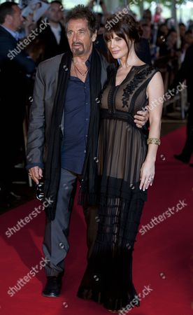 Us Actor-director Al Pacino (l) and His Partner Argentinian Actress Lucila Sola (r) Arrive For the Uk Premiere of 'Salome & Wilde Salome' at the Bfi Southbank Cinema in London Britain 21 September 2014 the Movie is an Adaptation of a Play by Irish Playwright and Author Oscar Wilde and Will Be Released in British Theaters on 10 November United Kingdom London