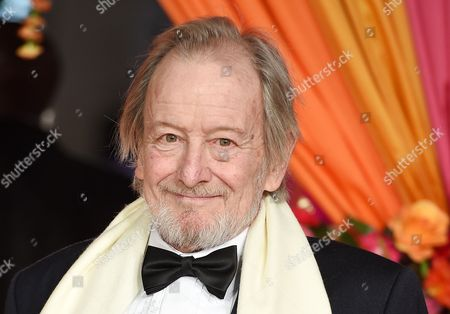 British Actor Ronald Pickup Poses For Photographers on the Red Carpet at the World Film Premiere of 'The Second Best Exotic Marigold Hotel' in London Britain 17 February 2015 the Movie Will Be Released in British Theaters on 26 February United Kingdom London