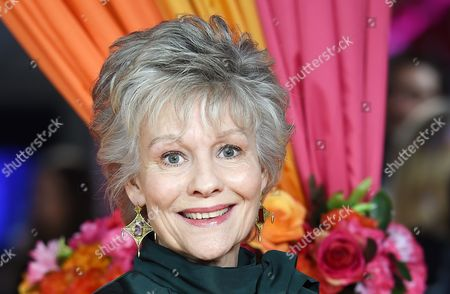 British Actress/cast Member Diana Hardcastle Arrives For the Premiere of 'The Second Best Exotic Marigold Hotel' in London Britain 17 February 2015 the Movie Will Be Released in British Theaters on 26 February United Kingdom London