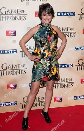 Us/ Italian Actress Rosabell Laurenti Sellers Arrives to the World Premiere of the Television Fantasy Drama 'Game of Thrones' Series 5 at the Tower of London in London Britain 18 March 2015 United Kingdom London