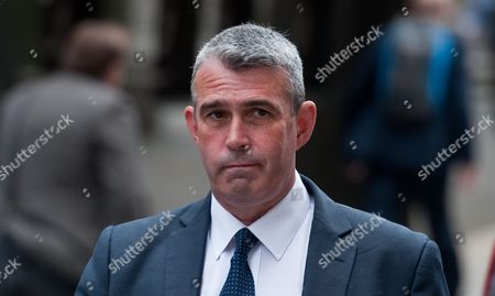 Former News International Head of Security Mark Hanna Arrives to the Old Bailey Central Criminal Court in Central London Britain 16 June 2014 Mark Hanna is Among Eight People who Are Waiting a Verdict on a Range of Charges During the Trial Including Conspiracy to Intercept Voicemails and Phone Hacking United Kingdom London
