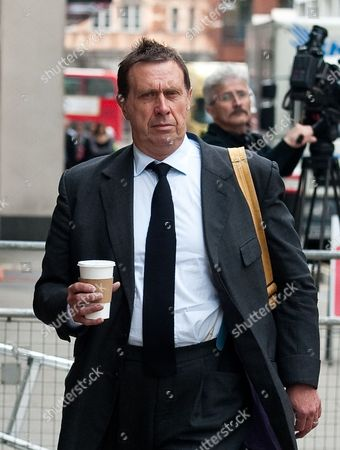 Former News of the World Royal Editor Clive Goodman Arrives to the Old Bailey Central Criminal Court in Central London Britain 16 June 2014 Clive Goodman is Among Eight People who Are Waiting a Verdict on a Range of Charges During the Trial Including Conspiracy to Intercept Voicemails and Phone Hacking United Kingdom London