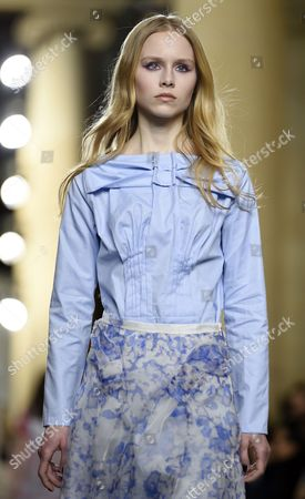 Editorial picture of Britain London Fashion Week - Feb 2015