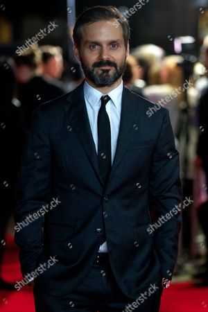 Stock Photo of Us Director Ned Benson Arrives For the Premiere of 'The Disappearance of Eleanor Rigby' at the 58th Bfi London Film Festival in London Britain 17 October 2014 the Festival Runs From 08 to 19 October United Kingdom London