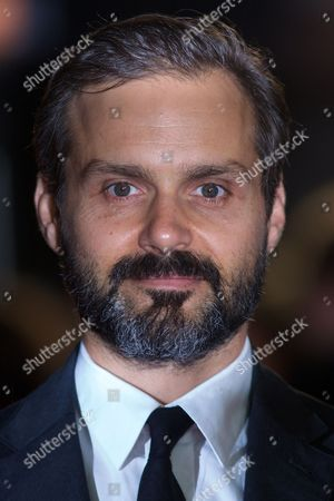 Stock Image of Us Director Ned Benson Arrives For the Premiere of 'The Disappearance of Eleanor Rigby' at the 58th Bfi London Film Festival in London Britain 17 October 2014 the Festival Runs From 08 to 19 October United Kingdom London