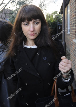 Francesca Grillo (r) a Former Assistant to British Television Celebrity Chef Nigella Lawson and Her Former Husband Charles Saatchi Arrives at Isleworth Crown Court London Britain 20 December 2013 She and Her Sister Elisabetta Are Accused of Defrauding Saatchi and His Then Wife of Almost 700 000 Pounds Sterling (euros 840 000) United Kingdom London