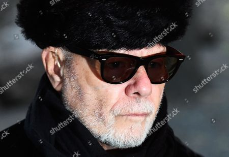 Former British Singer Gary Glitter Arrives to Southwark Crown Court in Central London Britain 05 February 2015 the Former Singer Whose Real Name is Paul Gadd Appeared on Charges Relating to Historic Sex Offenses Against Two Young Girls the Jury Found Him Guilty United Kingdom London