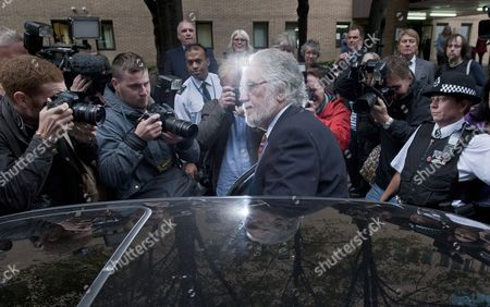 British Dj Dave Lee Travis Departs Southwark Crown Court in London Britain 26 September 2014 Veteran Bbc Television and Radio Presenter Dave Lee Travis was Sentenced to Three Months For Indecent Assault Relating to an Incident in 1995 United Kingdom London