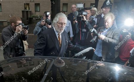 British Dj Dave Lee Travis (c) Departs Southwark Crown Court in London Britain 26 September 2014 Veteran Bbc Television and Radio Presenter Dave Lee Travis was Sentenced to Three Months For Indecent Assault Relating to an Incident in 1995 United Kingdom London