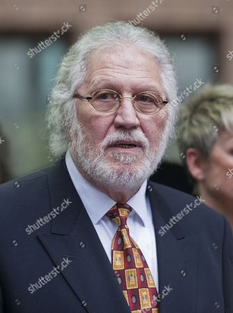 Stock Photo of British Dj Dave Lee Travis Departs Southwark Crown Court in London Britain 26 September 2014 Veteran Bbc Television and Radio Presenter Dave Lee Travis was Sentenced to Three Months For Indecent Assault Relating to an Incident in 1995 United Kingdom London
