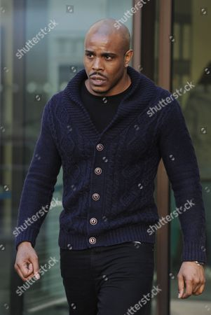 Rapper Mike Glc Also Known As Michael Coombs Leaves City of Westminster Magistrates Court in London 19 December 2013 the Rapper Appeared Charged with Supplying Class a Drugs the Charge Relates to an Investigation by the Sun Newspaper Between Early March 2013 and May 23 2013 United Kingdom London