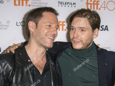 German Director Florian Gallenberger (l) and German Actor and Cast Member Daniel Bruehl Arrive For the Screening of the Movie 'Colonia' During the 40th Annual Toronto International Film Festival (tiff) in Toronto Canada 13 September 2015 the Festival Runs From 10 to 20 September Canada Toronto
