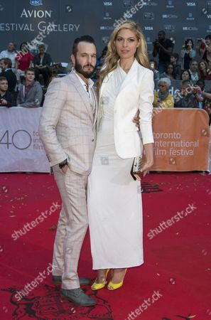 Canadian Actor and Cast Member Michael Eklund and His Wife Actress Megan Bennett Arrive For the Screening of the Movie 'Mr Right' the Closing Night Film of the 40th Annual Toronto International Film Festival (tiff) in Toronto Canada 19 September 2015 Canada Toronto