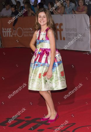 Stock Image of Us Actress and Cast Member Ariana Molkara Arrives For the Screening of the Movie 'Septembers of Shiraz' During the 40th Annual Toronto International Film Festival (tiff) in Toronto Canada 15 September 2015 the Festival Runs From 10 to 20 September Canada Toronto