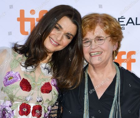 British Actress and Cast Member Rachel Weisz (l) and Us Author and Historian Deborah Lipstadt (r) Arrive For the Screening of the Movie 'Denial' During the 41st Annual Toronto International Film Festival (tiff) in Toronto Canada 11 September 2016 the Festival Runs From 08 to 18 September Canada Toronto