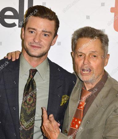 Us Musician and Cast Member Justin Timberlake (l) and Us Director Jonathan Demme (r) Arrive For the Screening of the Movie 'Justin Timberlake and the Tennessee Kids' During the 41st Annual Toronto International Film Festival (tiff) in Toronto Canada 13 September 2016 the Festival Runs From 08 to 18 September Canada Toronto