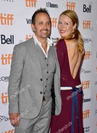 Canadian Actor and Cast Member Robert Moloney (l) and Girlfriend Canadian Actress Julie Lynn Mortensen Arrive For the Screening of the Movie 'Brain on Fire' During the 41st Annual Toronto International Film Festival (tiff) in Toronto Canada 16 September 2016 the Festival Runs From 08 to 18 September Canada Toronto