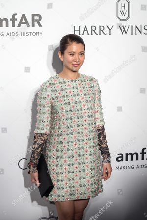 Stock Picture of Hong Kong Actress Anita Yuen Attends the Amfar Gala in Hong Kong China 19 March 2016 the American Foundation For Aids Research is Holding Its Second Hong Kong Fundraiser Event China Hong Kong