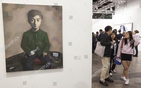 Editorial photo of China Hong Kong Art Basel - Mar 2016