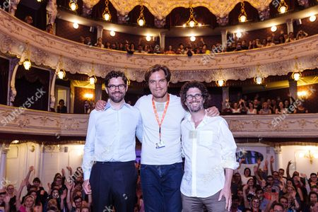 Us Actor Michael Shannon (c) and Producer Jay Van Hoy (l) and Director Joshua Marston (r) Pose During the Presentation of the Film 'Complete Unknown' at the 51st Karlovy Vary International Film Festival in Karlovy Vary Czech Republic 08 July 2016 the Festival Runs From 01 to 09 July Czech Republic Karlovy Vary