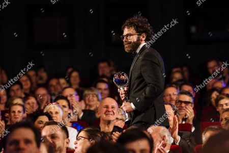 Us Screenwriter Producer and Director Charlie Kaufman (l) Receives the Festival President's Award at the 51st Karlovy Vary International Film Festival in Karlovy Vary Czech Republic 09 July 2016 the Festival Runs From 01 to 09 July Czech Republic Karlovy Vary