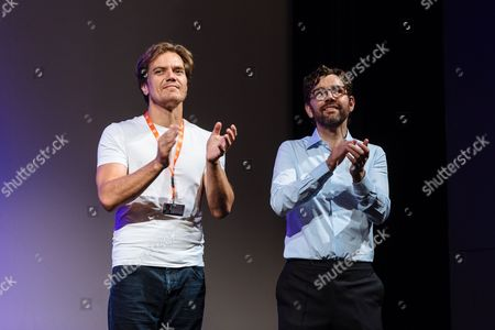 Us Actor Michael Shannon (l) and Producer Jay Van Hoy React During the Presentation of the Film 'Complete Unknown' at the 51st Karlovy Vary International Film Festival in Karlovy Vary Czech Republic 08 July 2016 the Festival Runs From 01 to 09 July Czech Republic Karlovy Vary