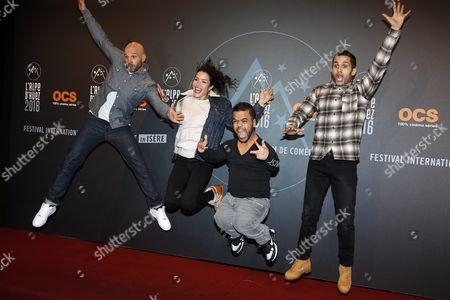 Editorial picture of France Alpe D Huez Film Festival 2016 - Jan 2016