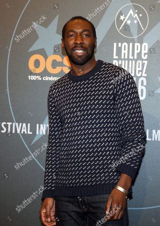 Stock Picture of French Actor Cyril Guei Attends the 19th Annual International Comedy Film Festival in L'alpe D'huez France 15 January 2016 the Festival Runs From 13 to 17 January France Alpe D'huez