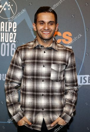 French Actor Malik Bentalha Attends the Closing Ceremony of the 19th Annual International Comedy Film Festival in L'alpe D'huez France 16 January 2016 the Festival Runs From 13 to 17 January France Alpe D'huez