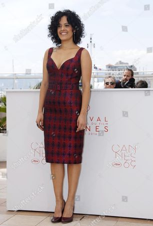 Brazilian Actress Maeve Jinkings Poses During the Photocall For 'Aquarius' at the 69th Annual Cannes Film Festival in Cannes France 18 May 2016 the Movie is Presented in the Official Competition of the Festival Which Runs From 11 to 22 May France Cannes
