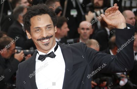 Stock Photo of French Actor Tomer Sisley Arrives For the Screening of 'Money Monster' During the 69th Annual Cannes Film Festival in Cannes France 12 May 2016 the Movie is Presented out of Competition at the Festival Which Runs From 11 to 22 May France Cannes