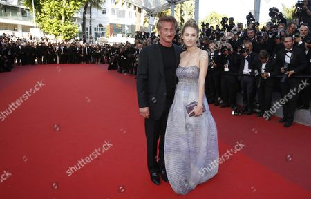 Us Director Sean Penn (l) and His Daughter Dylan Frances Penn (r) Arrive For the Screening of 'The Last Face' During the 69th Annual Cannes Film Festival in Cannes France 20 May 2016 the Movie is Presented in the Official Competition of the Festival Which Runs From 11 to 22 May France Cannes