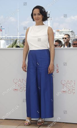 French Actress Pauline Caupenne Poses During the Photocall For 'La Foret De Quinconces' (fool Moon) at the 69th Annual Cannes Film Festival in Cannes France 17 May 2016 the Movie is Presented in the Section Special Screenings of the Festival Which Runs From 11 to 22 May France Cannes