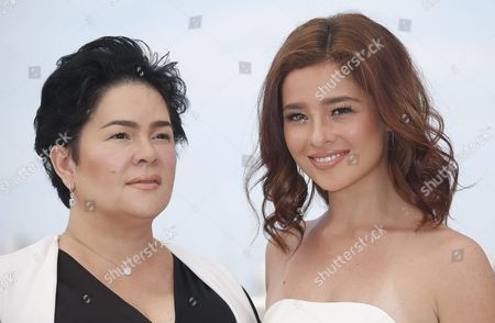 Philippino Actress Andi Eigenmann (r) and Philippino Actress Jaclyn Jose (l) Pose During the Photocall For 'Ma'rosa' at the 69th Annual Cannes Film Festival in Cannes France 18 May 2016 the Movie is Presented in the Official Competition of the Festival Which Runs From 11 to 22 May France Cannes