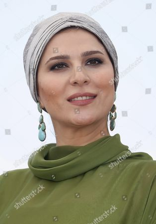 Iranian Actress Sahar Dolatshahi Poses During the Photocall For 'Varoonegi' (inversion) at the 69th Annual Cannes Film Festival in Cannes France 18 May 2016 the Movie is Presented in the Section Un Certain Regard of the Festival Which Runs From 11 to 22 May France Cannes