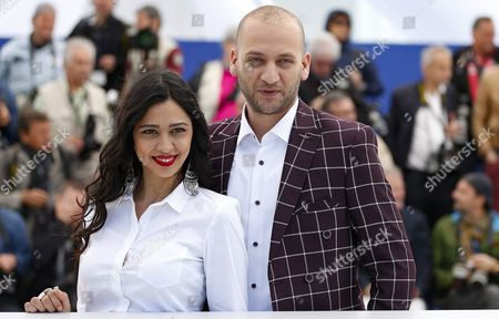 Israeli Actress Maisa Abd Elhadi (l) and Israeli Actor Doraid Liddawi (r) Pose During the Photocall For 'Omor Shakhsiya' (personal Affairs) at the 69th Annual Cannes Film Festival in Cannes France 12 May 2016 the Movie is Presented in the Section Un Certain Regard of the Festival Which Runs From 11 to 22 May France Cannes