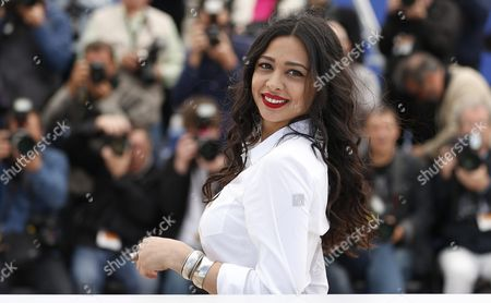 Israeli Actress Maisa Abd Elhadi Poses During the Photocall For 'Omor Shakhsiya' (personal Affairs) at the 69th Annual Cannes Film Festival in Cannes France 12 May 2016 the Movie is Presented in the Section Un Certain Regard of the Festival Which Runs From 11 to 22 May France Cannes