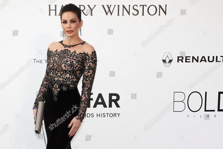 Stock Photo of Model Daniela Michalski Attends the Cinema Against Aids Amfar Gala 2016 Held at the Hotel Du Cap Eden Roc in Cap D'antibes France 19 May 2016 Within the Scope of the 69th Annual Cannes Film Festival That Runs From 11 to 22 May France Cannes