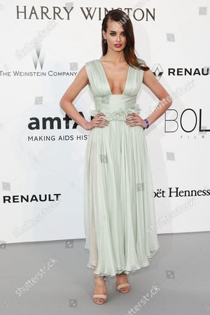 Turkish Austrian Model Elif Aksu Attends the Cinema Against Aids Amfar Gala 2016 Held at the Hotel Du Cap Eden Roc in Cap D'antibes France 19 May 2016 Within the Scope of the 69th Annual Cannes Film Festival That Runs From 11 to 22 May France Cannes