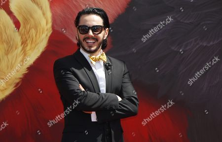 Russian Actor Timur Rodriguez Poses During the Photocall For 'The Angry Birds Movie' on the Eve of the Opening of the 69th Annual Cannes Film Festival in Cannes France 10 May 2016 the Festival Runs From 11 to 22 May France Cannes