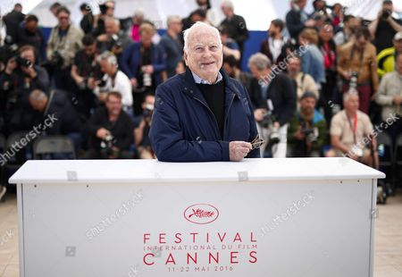 Us Director Jim Ivory Poses During the Photocall For 'Howards End' at the 69th Annual Cannes Film Festival in Cannes France 12 May 2016 the Movie is Presented in the Section Cannes Classsics of the Festival Which Runs From 11 to 22 May France Cannes