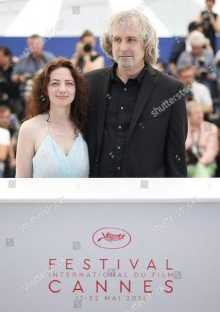Us Director Michael O'shea (r) and Us Actress Chloe Levine (l) Pose During the Photocall For 'The Transfiguration' at the 69th Annual Cannes Film Festival in Cannes France 14 May 2016 the Movie is Presented in the Section Un Certain Regard of the Festival Which Runs From 11 to 22 May France Cannes